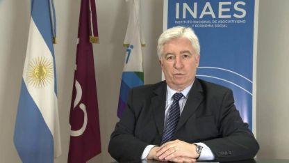 El presidente del Inaeses uno de los referentes en el país sobre asociativismo y economía social.