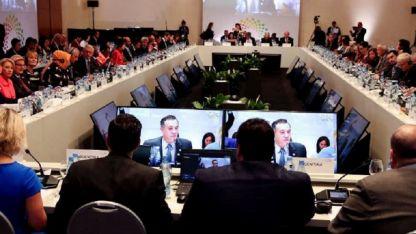 Achicar la brecha digital entre mujeres y varones fue otro tema tratado en la reunión ministerial.