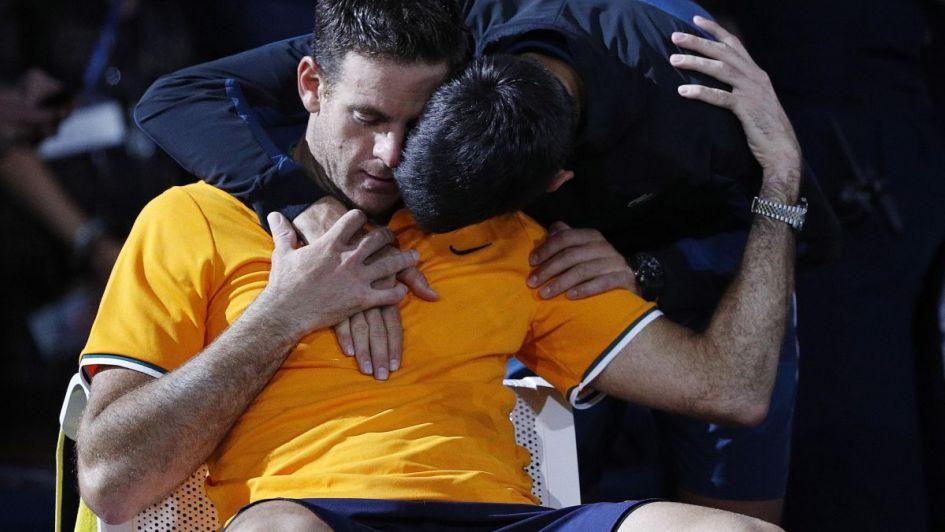 El gran gesto de Djokovic con Del Potro que no pasó desapercibido