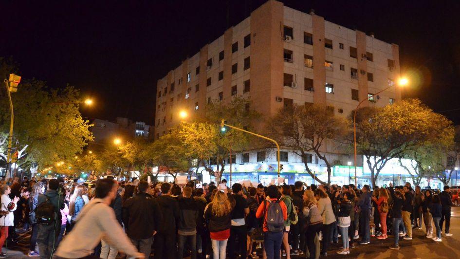 Manifestación en San Rafael para pedir justicia por Genaro Fortunato