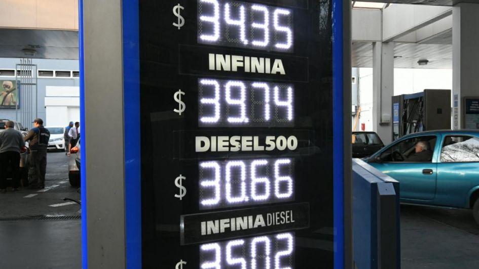Nuevo aumento de los combustibles de YPF ahora subió el precio del gasoil