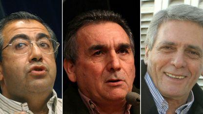 Héctor Daer, , Juan Carlos Schmid y Carlos Acuña  formaban parte sorpresivamente de las negociaciones por el Presupuesto 2019.