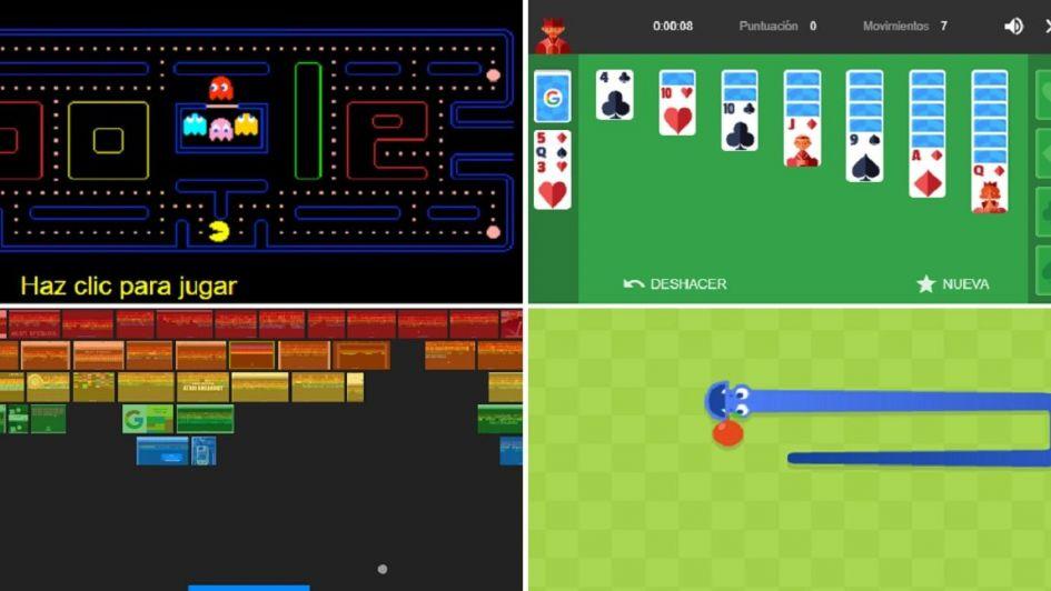 ¿Estás aburrido? Probá con estos juegos que Google te ofrece gratis en línea