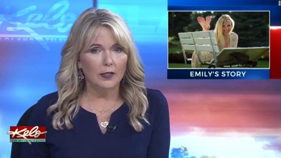 Periodista dio la noticia de la muerte de su propia hija al aire