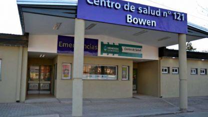 Nueva fachada. Así luce el remozado centro de salud.