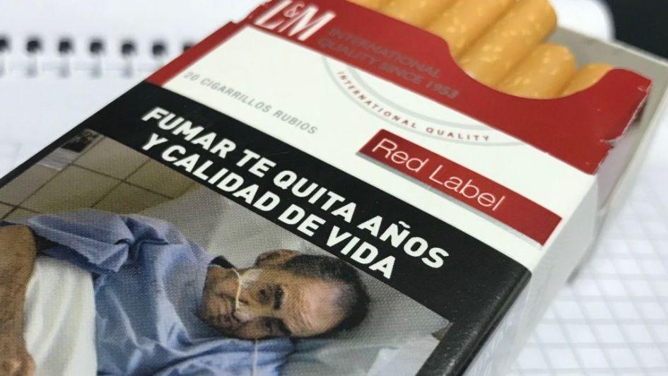 Ilustran 8 marcas de tabaco con un mendocino muerto y la familia traba millonaria demanda