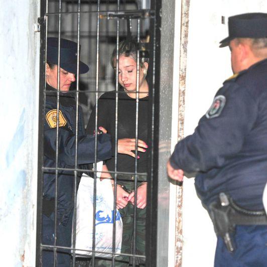 Nahir Galarza comienza su día a las 6.30: así es su nueva rutina en la cárcel común