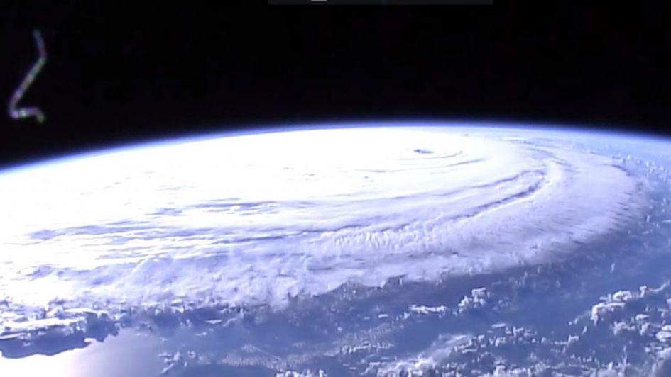 La NASA capta una imagen impresionante de Florence: