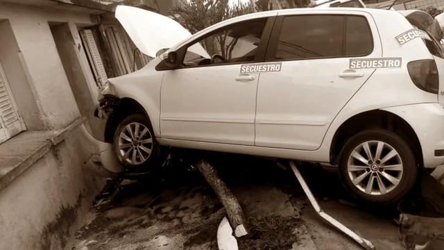 Otro ex Boca chocó su auto
