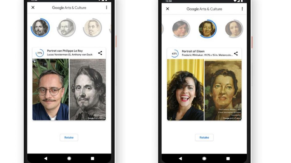 Google Art Selfie, la divertida app que te dice a qué pintura famosa te parecés