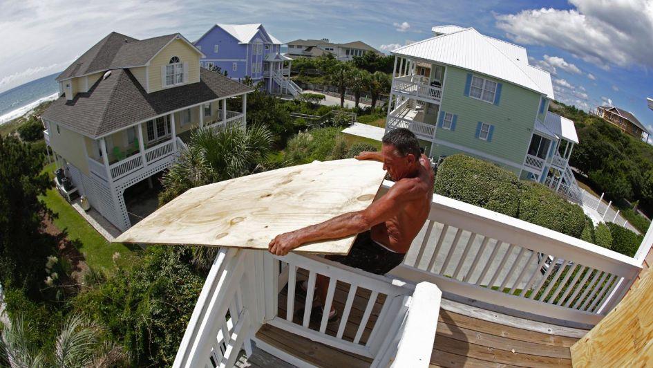 Imágenes impactantes: así se acerca el huracán