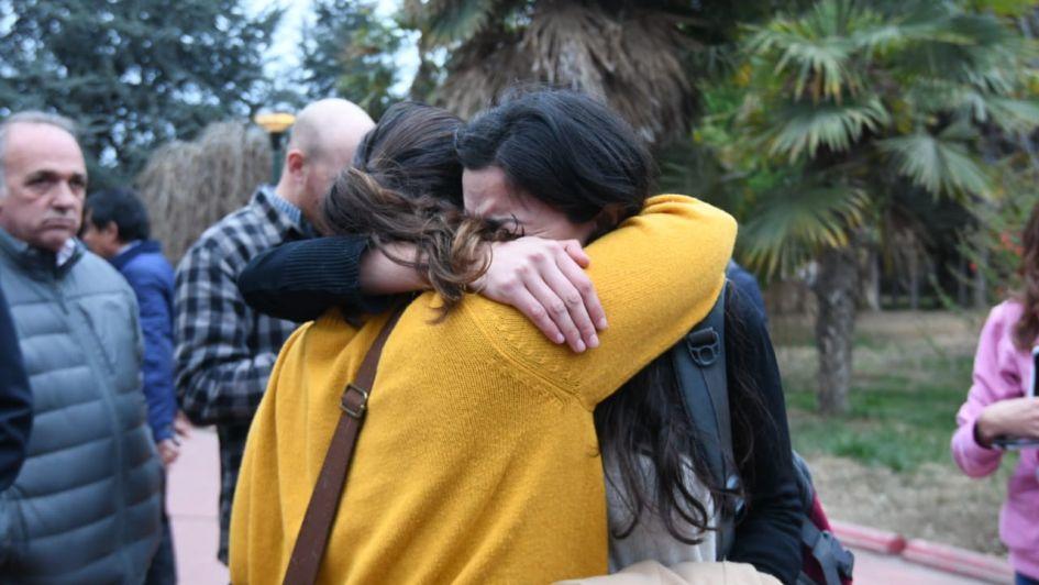 Familiares de víctimas del Próvolo se cruzaron con De Marchi por la compra del edificio