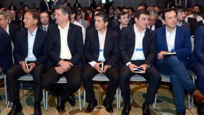 Suárez (Capital), Orozco (L. Heras), Marcolini (Alvear) y García Zalazar (G. Cruz).