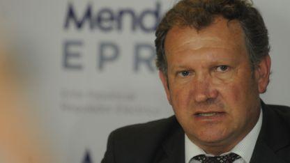 El ex ministro de Infraestructura y Energía,  Rolando Baldasso.