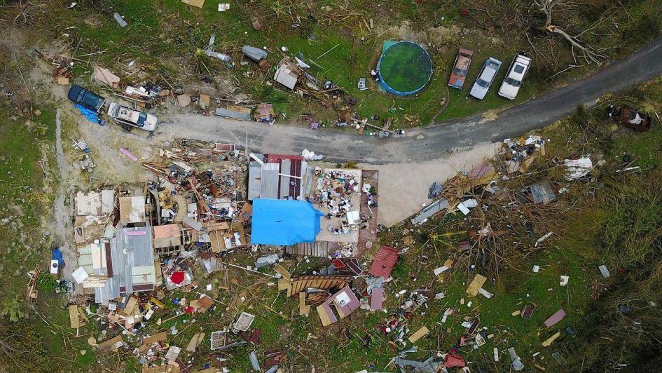 Trump polémico: negó que el huracán María haya dejado 3.000 muertos en Puerto Rico