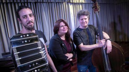 Ezequiel Acosta, Elbi Olalla y Gerardo Lucero son parte de Altertango. Foto: Ignacio Blanco.