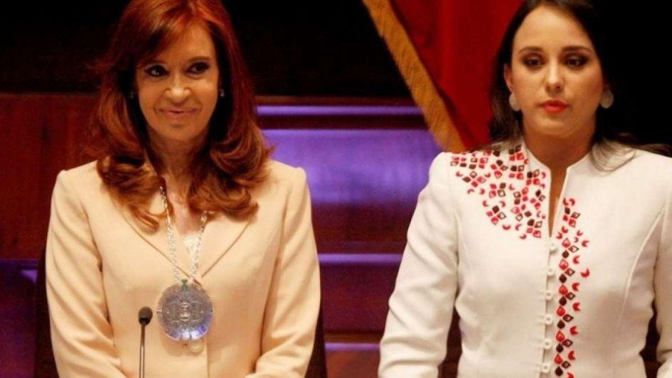 Le sacaron una condecoración a Cristina Fernández en Ecuador