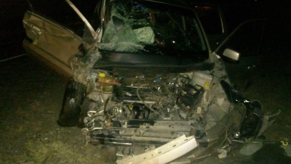 Volvía de trabajar y murió en un choque frontal en Luján