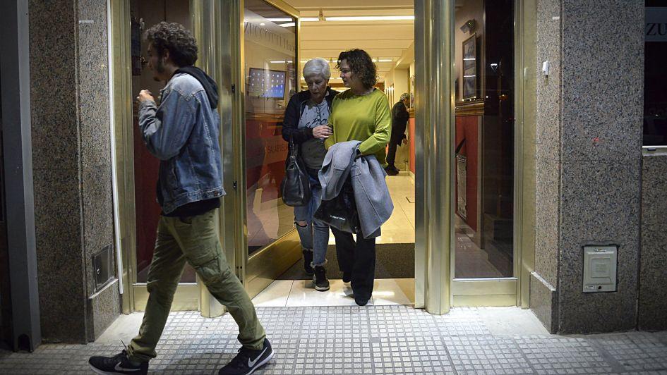 Ricardo y Alejandra Darín le dieron el último adiós a su mamá
