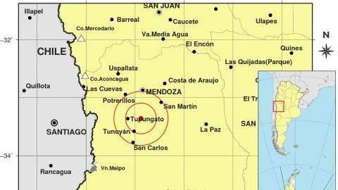 De los últimos 25 sismos, el más fuerte se registró en Mendoza