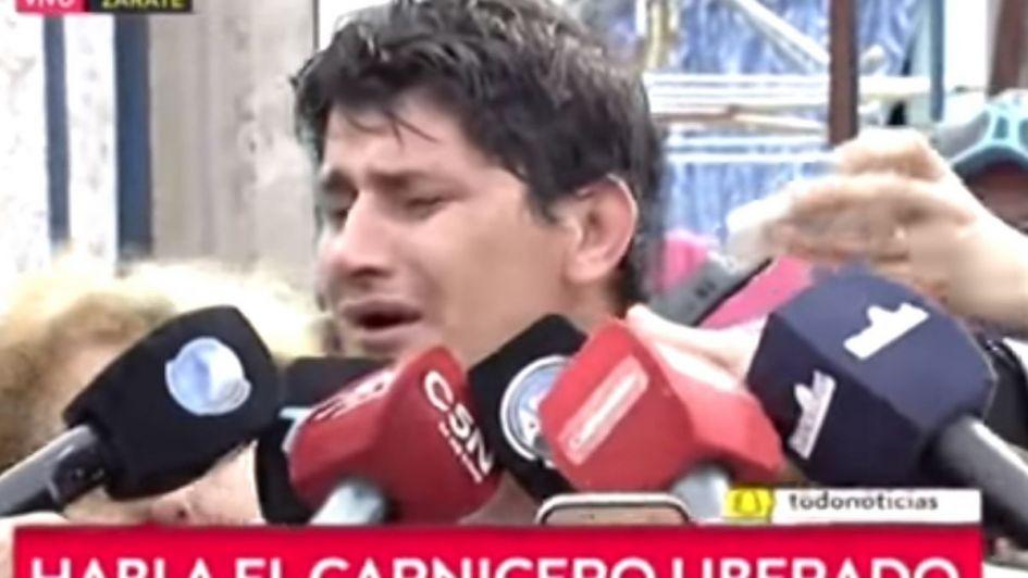 Video: así atropelló y mató al ladrón el carnicero de Zárate que ayer fue absuelto
