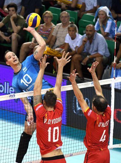 Argentina venció a Dominicana en el Mundial de Voleibol