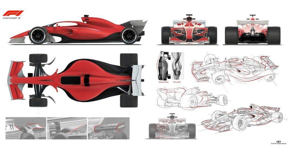 Los posibles diseños de la Fórmula 1 para un futuro