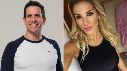 La pareja de Diego Ramos y Macarena Rinaldi que se truncó, por el momento.