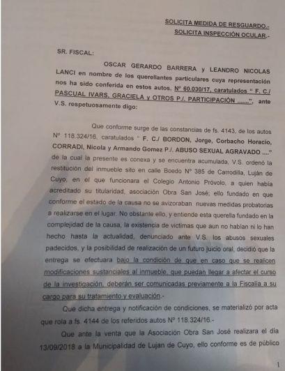 La Municipalidad de Luján no podrá modificar ni construir en la sede del Próvolo