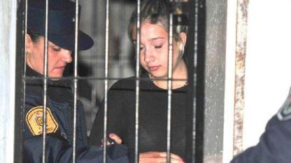 Nahir Galarza (20) fue alojada esta semana en la Unidad Penal de Mujeres de Paraná.