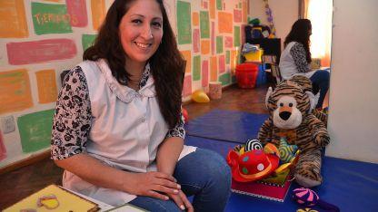 Jimena es profesora en Sordos y Terapia del Lenguaje.