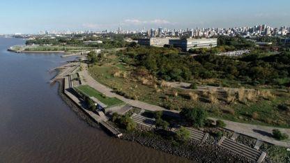 Vista de la Reserva ecológica Costanera Norte, junto a la Ciudad Universitaria Gentileza / Clarín