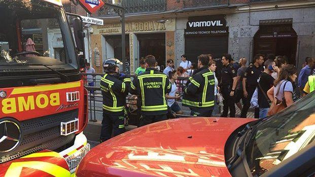 Pánico en el Metro de Madrid tras explotar el ordenador portátil de una viajera