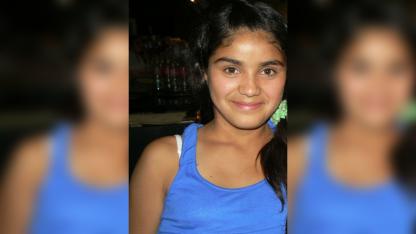 Johana tenía 13 años.