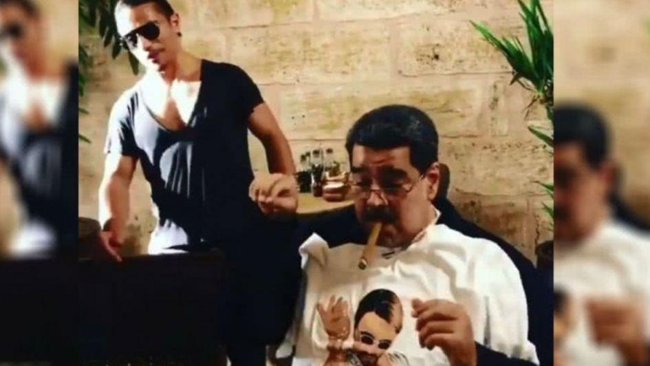 Maduro almuerza en lujoso restaurante y causa indignación entre los venezolanos