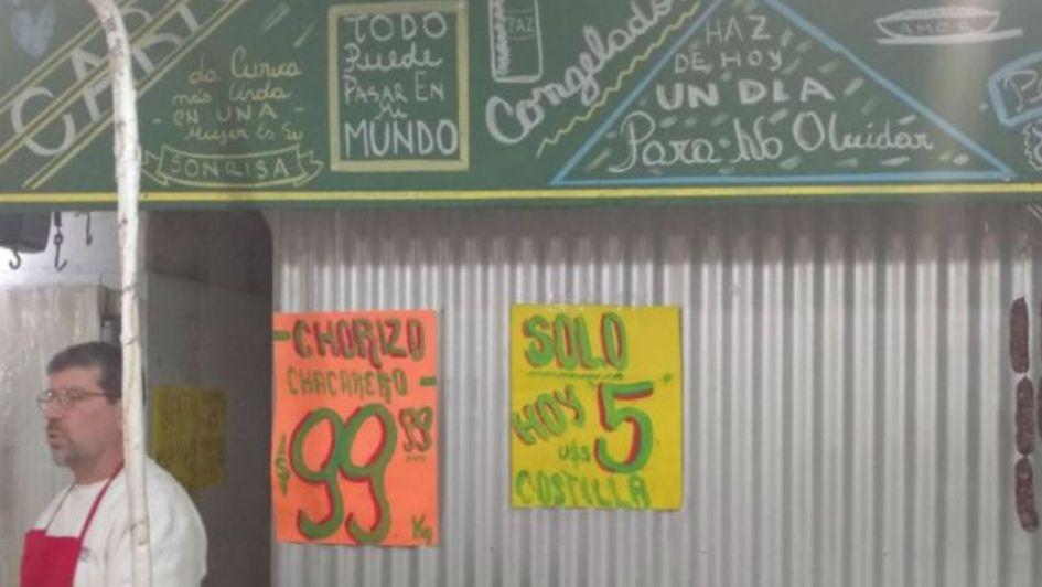 Insólito: Una carnicería de Córdoba cotiza sus carnes en dólares