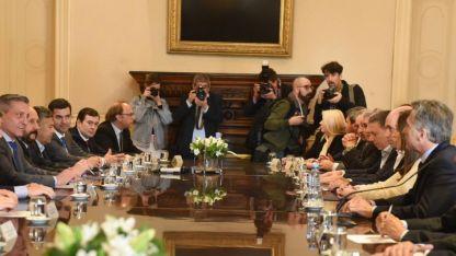 Macri se reunió con gobernadores la semana pasada.