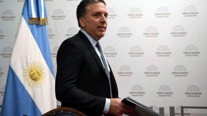 El lunes pasado Dujovne presentó el proyecto de Presupuesto 2019 en Diputados.