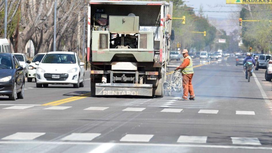 La obra de la avenida Balloffet en San Rafael está oficialmente terminada
