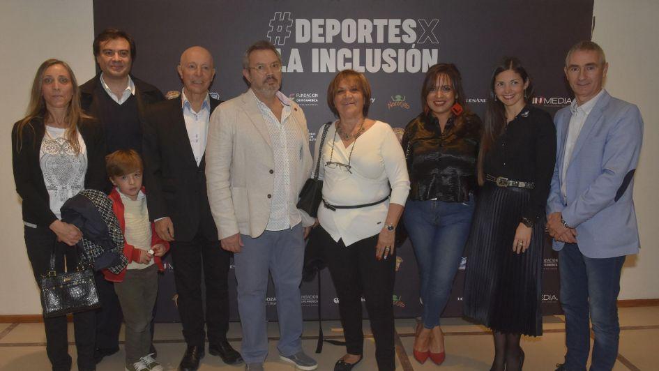 Cena de gala por la inclusión en el deporte