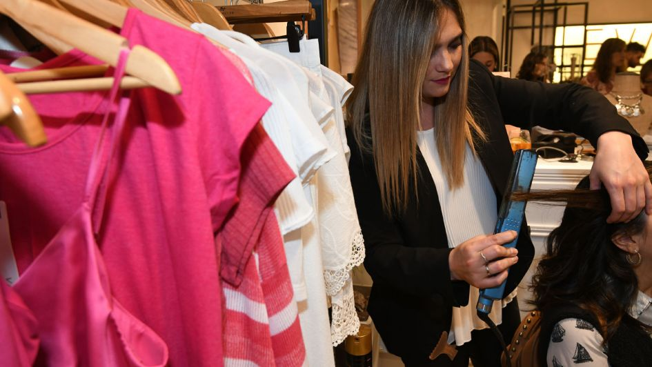 EVA Miller reinauguró su local en el Shopping