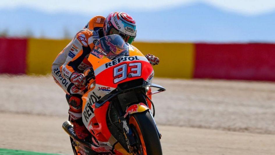 Lorenzo logró la pole en Aragón — MotoGP
