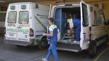 Ambos heridos fueron internados por la gravedad de las lesiones sufridas.