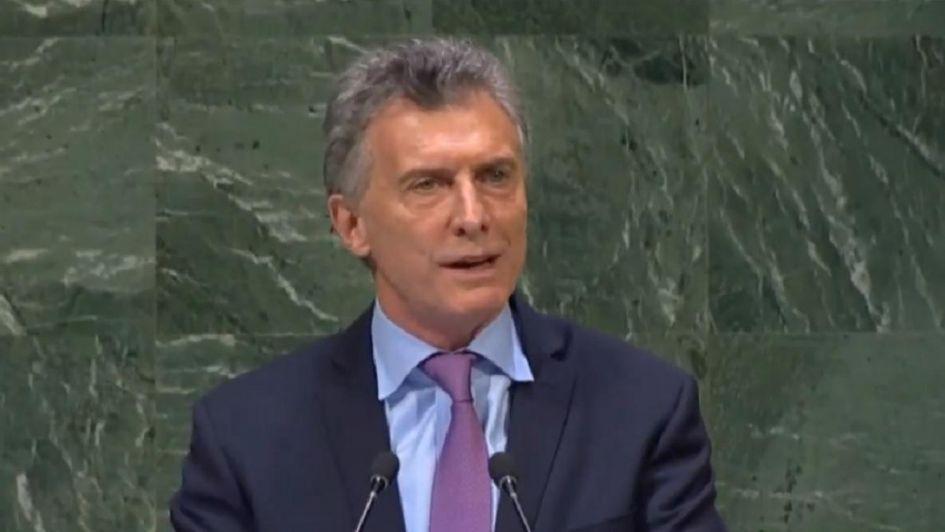 Macri en la ONU: