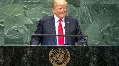 """Indignado. Trump exigió en la ONU que el mundo le dé la espalda a la """"dictadura"""" de Irán, pero la UE no quiere cortar relaciones"""