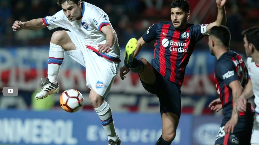 Copa Sudamericana: San Lorenzo perdió 2 a 0 ante Nacional y se quedó afuera