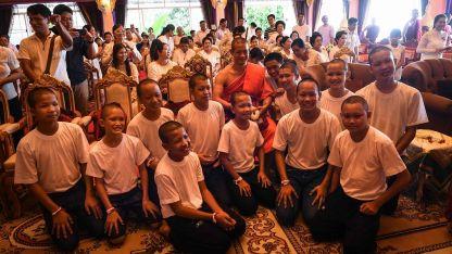 Los chicos participaron en agosto de un retiro espiritual.