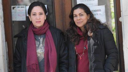 Iris Gómez y Jéssica Santana.
