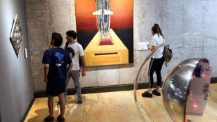 Anexo mmamm. El nuevo espacio municipal cuenta con obras del Fondo Nacional de las Artes.