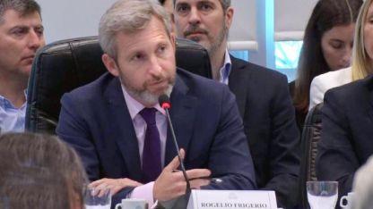 Presupuesto. La semana pasada estuvo el ministro Frigerio explicando los números del Estado.